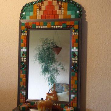 Orientalischer Mosaikspiegel