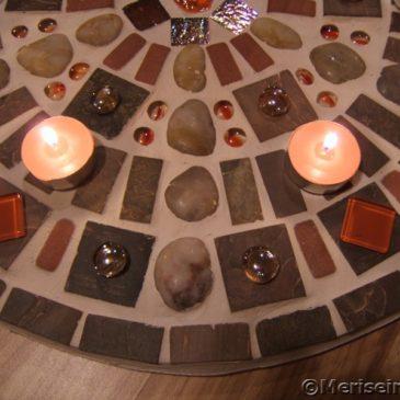 Mosaikbild Steinkreis
