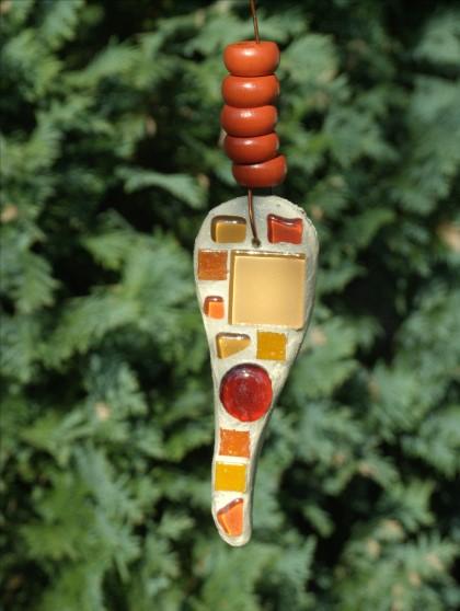 Mosaik Suncatcher in orange