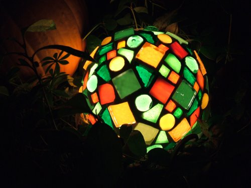 Mosaik Lampe