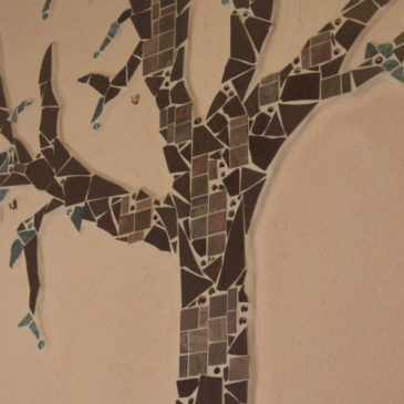 Mosaikbaum selbermachen
