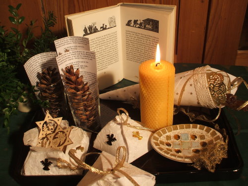 Mosaik basteln  weihnachten