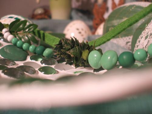 grüne Mosaikschale