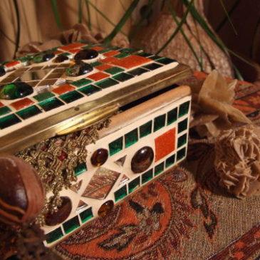 Mosaik Schatzkästchen