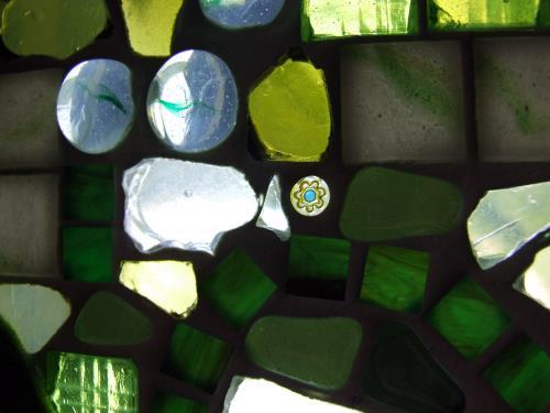 Mosaik Fensterbilder basteln
