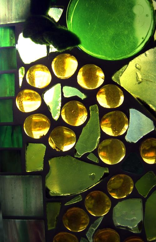 Mosaik fensterbilder