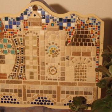 Tanzende Haus Mosaik
