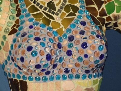 Meerjungfrau aus Mosaik