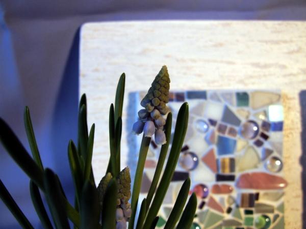 Mosaikbild Wintermorgen