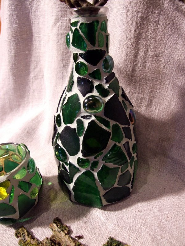 Mosaik Vase
