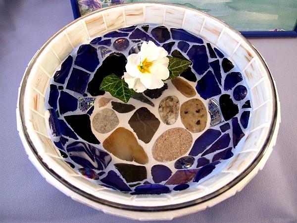 Mosaikschale selbermachen