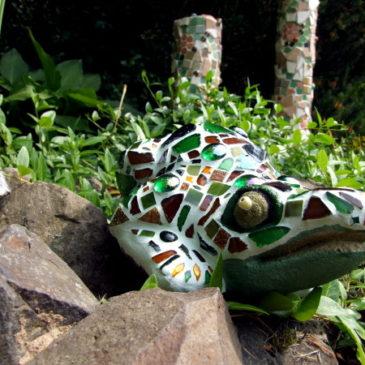 Mosaik Frosch
