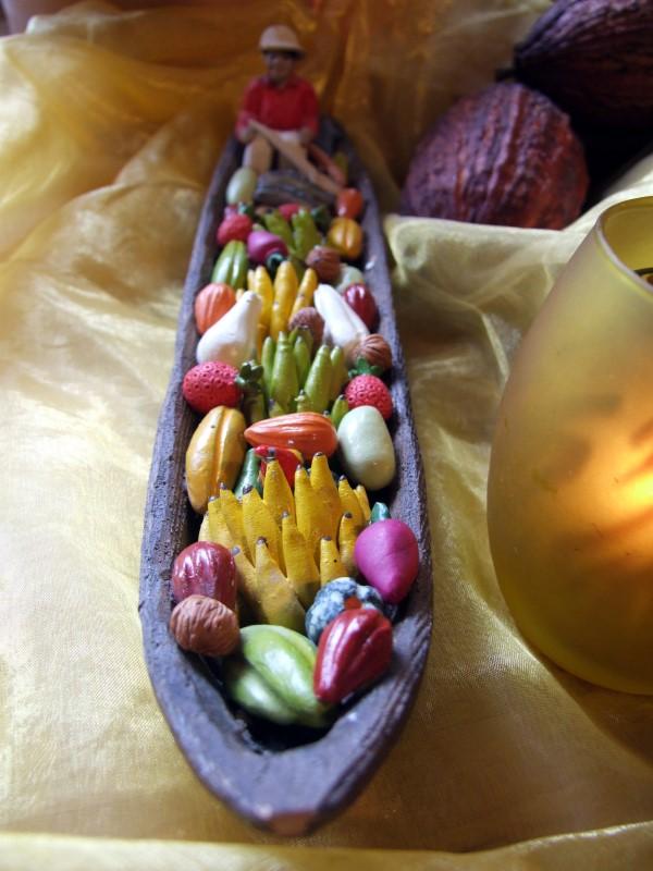 Früchteboot
