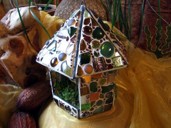 Mosaik-Glashaus