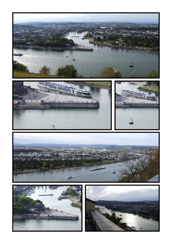 Aussicht auf Koblenz