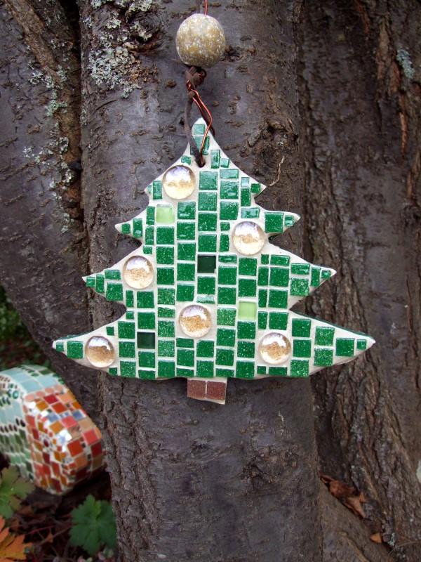 Mosaik Weihnachtsschmuck