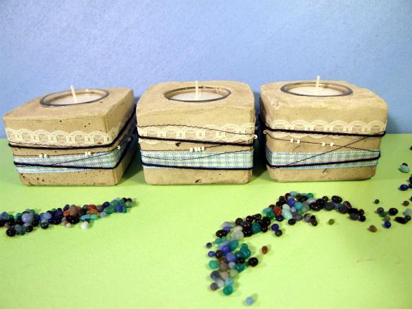 Kerzenhalter aus Beton kaufen