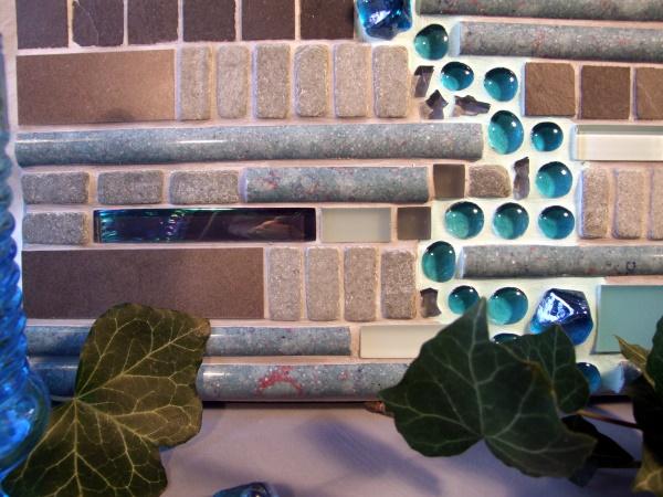 Mosaikideen mit Glassteinen