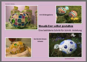 Anleitung Mosaik ostereier