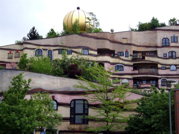 Hundertwasser haus in Darmstadt