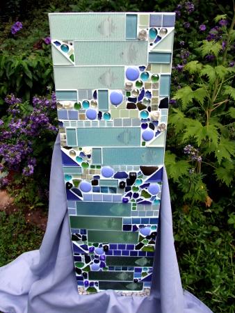 Mosaikbild mit Fischen