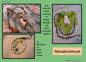 Mosaikschmuck basteln