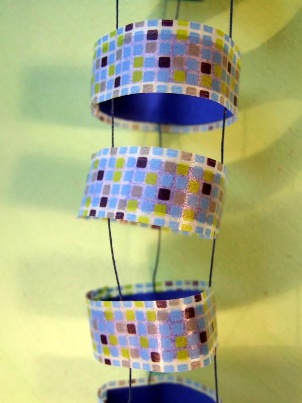 Dekofisch aus masking tape