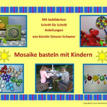Mosaik basteln mit Kindern