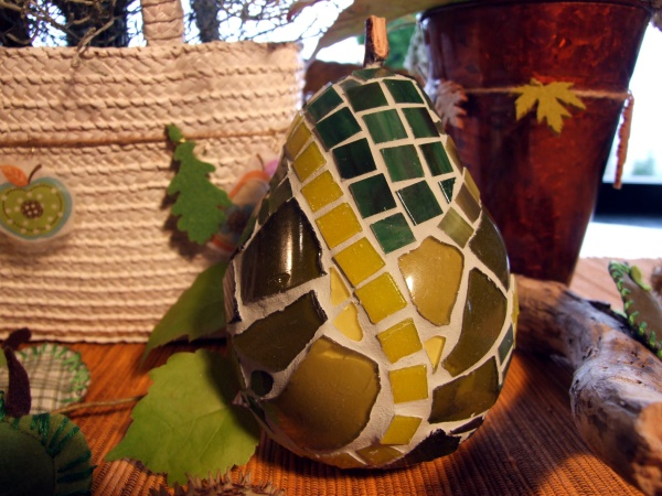 Mosaik Birne