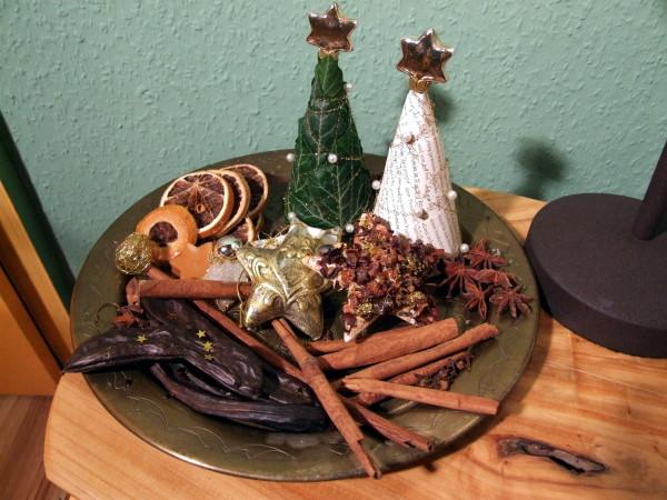 Orientalische Weihnacht mit Gewürzen