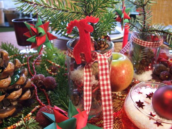 Tischschmuck Weihnachten