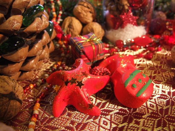 Betondeko rot weihnachten