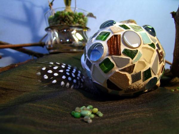 Mosaik Eier basteln