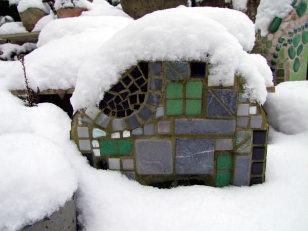 Mosaike im Schnee