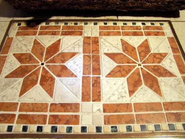 Mosaik Fussmatte