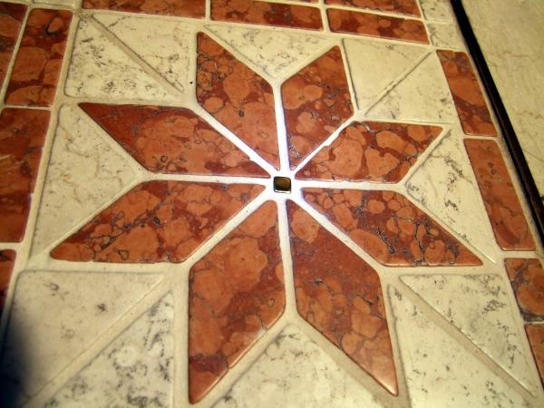 Mosaik im Flur