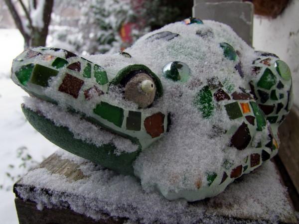 Mosaik im Schnee