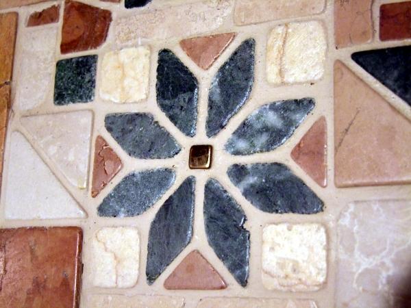 Marmor Mosaikstern
