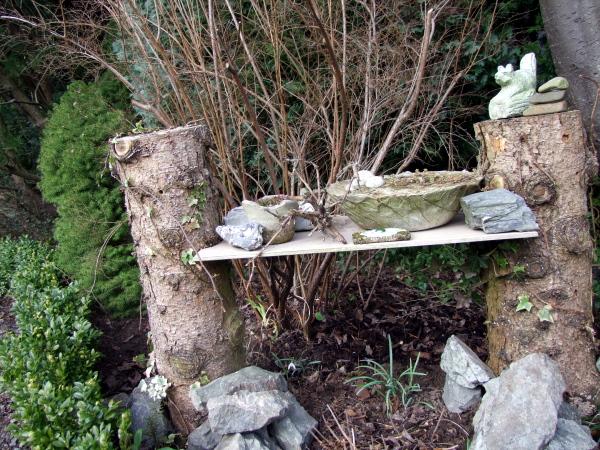 Topfgarten aus beton meriseimorion for Gartendeko tisch