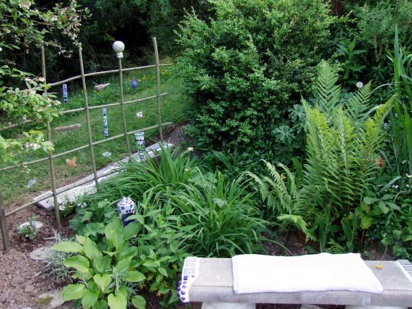 ein weiden gitter für mosaik suncatcher basteln | meriseimorion, Gartenarbeit ideen