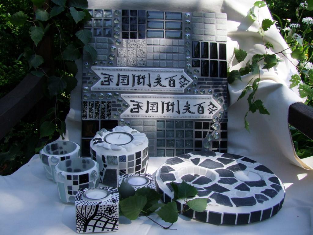 neue deko aus beton und mosaik im shop sonta berry. Black Bedroom Furniture Sets. Home Design Ideas