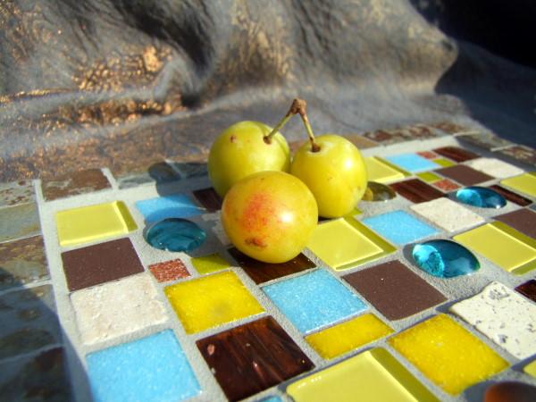 Mosaikteller Herbst