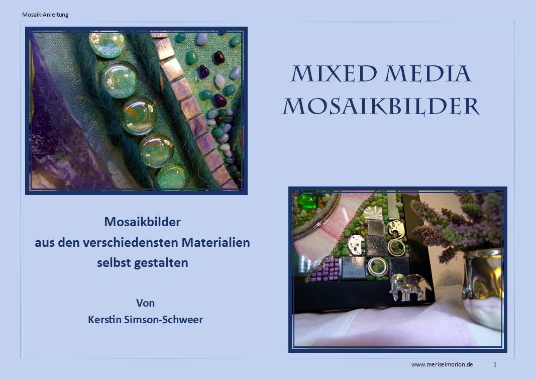 Eine DIY Anleitung für Mixed Media Mosaikbilder
