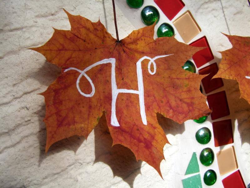 Herbstblätter basteln