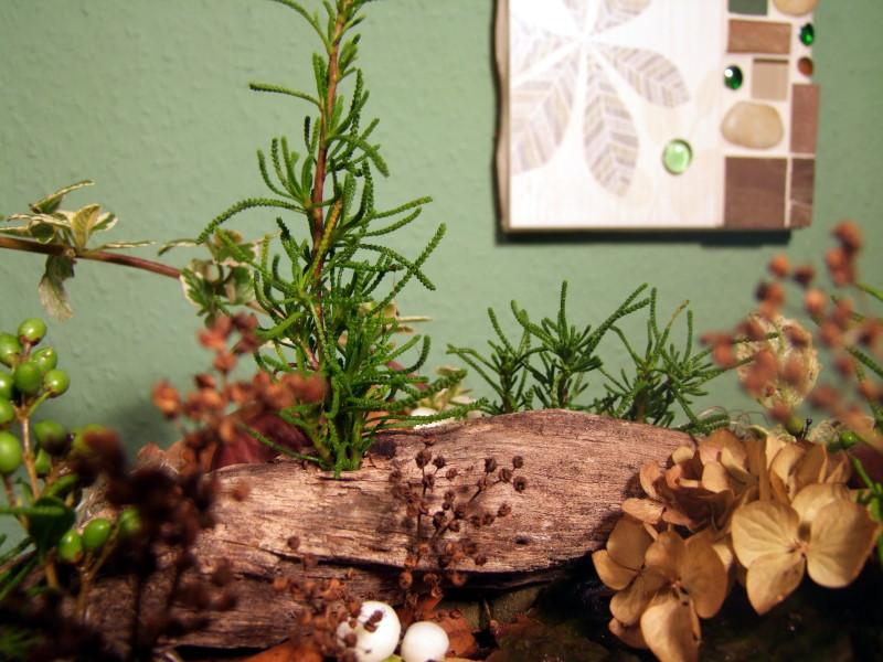 naturfarbener herbstkranz mit kastanien und schneebeeren meriseimorion. Black Bedroom Furniture Sets. Home Design Ideas