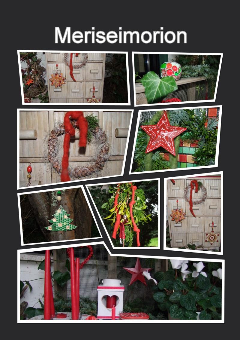 Weihnachtsdeko draussen