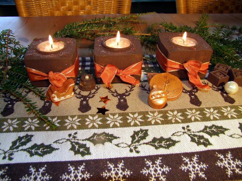 Tischdeko Heiligabend
