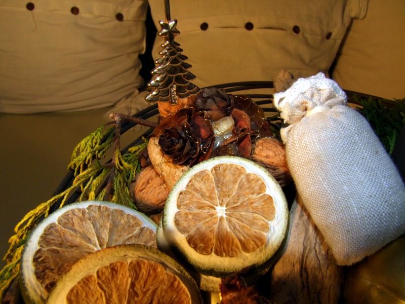 Weihnachtliche Etagere
