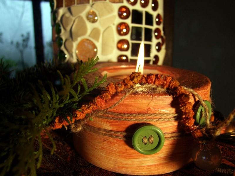 Beton Kerzenhalter