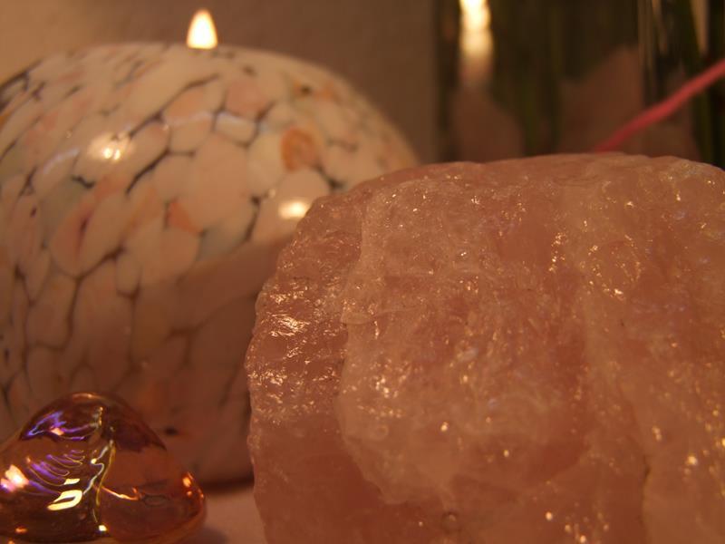 Glasvasen Deko mit rosa Rosen